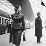 Victoria Station, London Posters by Toni Frissell