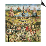 The Garden of Earthly Delights Posters by Hieronymus Bosch