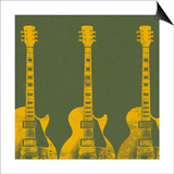 Guitars 4 Prints by Stella Bradley