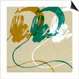 Headphones Print by Stella Bradley