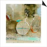 Cozy Bike Art by Patrick Wright