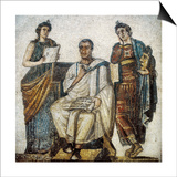 Virgil and the Muses Prints