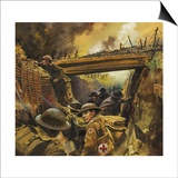 The Trenches Prints by Andrew Howat