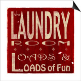 The Laundry Posters by  Barn Owl Primitives
