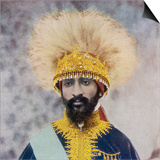 Haile Selassie Emperor of Ethiopia Plakater