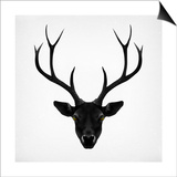 The Black Deer Poster by Ruben Ireland