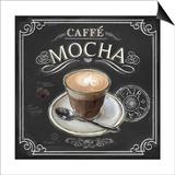 Coffee House Caffe Mocha Print by Chad Barrett
