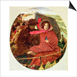 The Last of England, 1860 Prints by Ford Madox Brown