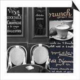 French Café 2 Print by Cameron Duprais