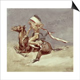 Pony War Dance Prints by Frederic Sackrider Remington