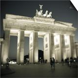 Brandenburg Gate, Pariser Platz, Berlin, Germany Prints by Jon Arnold