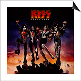 KISS - Destroyer (1976) Art by  Epic Rights