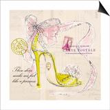 Princess Shoe Prints by Barbara Lindner