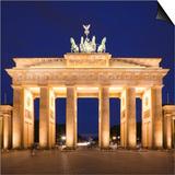 Brandenburg Gate, Pariser Platz, Berlin, Germany Posters by Jon Arnold