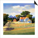 Barns on Greenbrier VI Prints by Max Hayslette