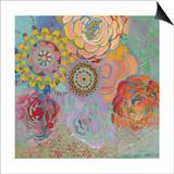 Bohemian Blossoms Posters by Jeanne Wassenaar