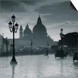 Piazza San Marco Looking across to Santa Maria Della Salute, Venice, Italy Prints by Jon Arnold
