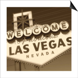 Welcome Sign Print by Walter Robertson