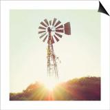 Nostalgic Windmill Posters by Mandy Lynne