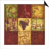 Tuscan Wine II Print by Gregory Gorham