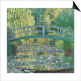 Waterlily Pond Green Harmony Art by Claude Monet