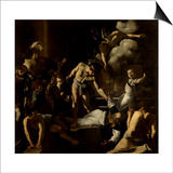 Martyrdom of St. Matthew Prints by  Caravaggio