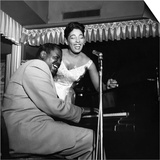 Carmen McRae, Oscar Peterson, 1956 Prints by William Lanier