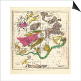 1835, Constellations April - June Prints