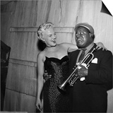 Louis Armstrong and Peggy Lee - 1954 Prints by Howard Morehead