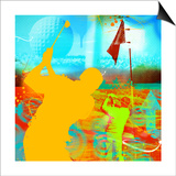 Golf 1 Prints by JB Hall