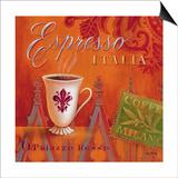 Espresso Italia Print by Angela Staehling