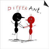Differ Ant Prints