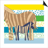 Zebra Family Posters by  Z Studio