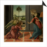 Annunciation Prints by Sandro Botticelli