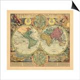 1730, World Prints