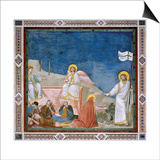 Passion, The Resurrection Print by  Giotto di Bondone