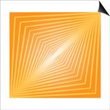 Modern Geometrics D Print by  GI ArtLab