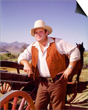 Dan Blocker - Bonanza Prints