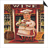 Wine Chef Posters by K. Tobin