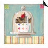 One Chocolate Cupcake Prints by K. Tobin