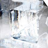 Ice Blocks III Print by Graeme Montgomery
