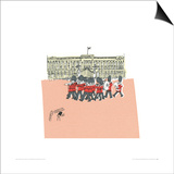 They're changing guard at Buckingham Palace II Prints by Susie Brooks