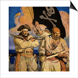 Wyeth: Treasure Island Posters by Newell Convers Wyeth