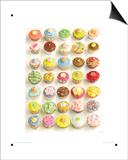 Cup Cakes Poster by Howard Shooter