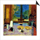 Bonnard: Dining Room Prints by Pierre Bonnard