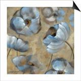 Flowers in Dusk II Prints by Silvia Vassileva
