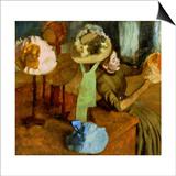 Degas: Milliner, 1879-84 Prints by Edgar Degas