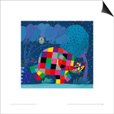 Elmer and the Lost Teddy Prints by David Mckee