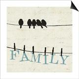 Bird Talk III Posters by  Pela