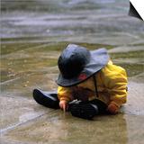 Child in the Rain Prints by Nicole Katano